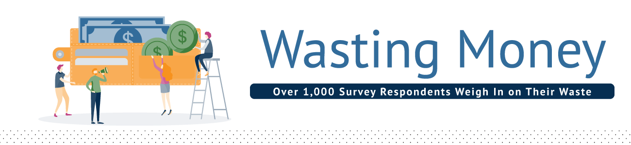 Wasting Money: Over 1,000 Survey Respondents Weigh In on Their Waste